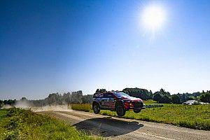 Estonya Rallisi: Rovanpera, ilk etabı kazanmayı başardı