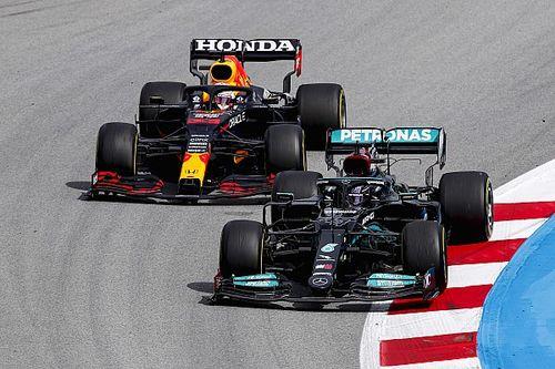 Horner: Verstappen doet zegje in strijd met Hamilton op de baan