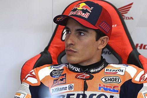 """MotoGP: Márquez revela que ficou """"assustado"""" após queda no TL3, afetando sua classificação em Jerez"""
