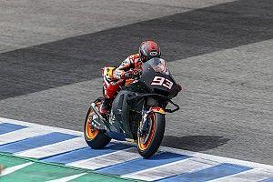 """Marquez vroeg klaar in Jerez: """"Voelde dat het niet goed zat"""""""