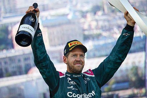 """F1: Vettel espera que Aston Martin possa manter momento positivo após """"início muito difícil"""""""