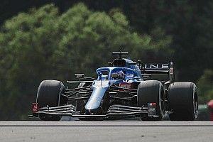 Alonso, Avusturya'daki son puanı Russell'ın ellerinden aldığı için üzgün
