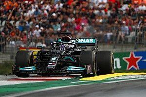 """Hamilton sceptisch over Mercedes-update: """"Zal niet genoeg zijn"""""""