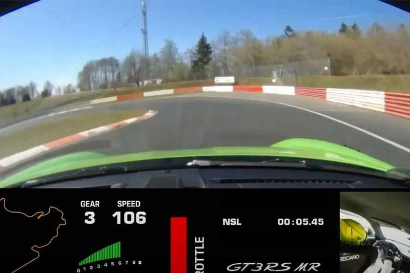 Videón, ahogy a Manthey által tuningolt Porsche 911 GT3 RS végigszáguld a Nürburgringen