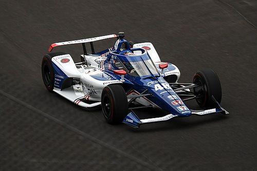 Indy 500: Kanaan op kop, zware crash voor Ferrucci