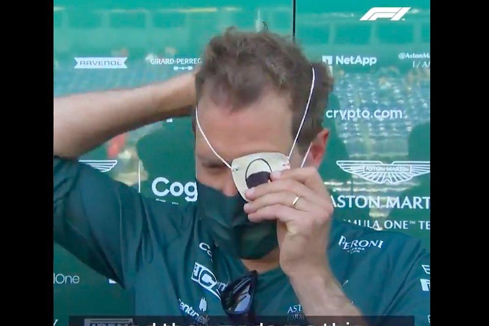 Vettel Alami Problem Mata di F1 GP Monako