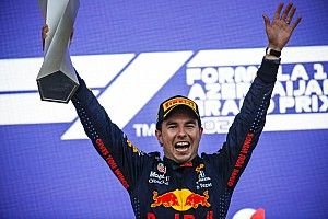 Victoria de Sergio Pérez en Azerbaiyán, su primera con Red Bull