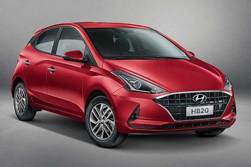 Novo Hyundai HB20 2020 é revelado oficialmente