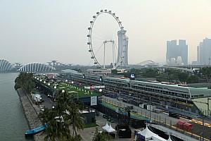 Live: Follow practice for the Singapore GP as it happens