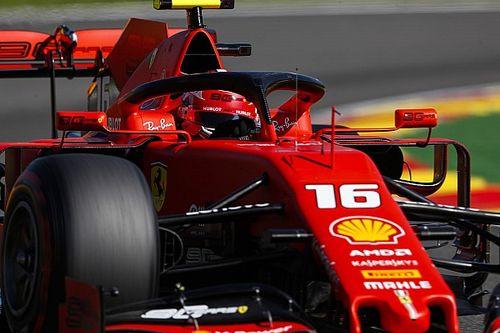 """Leclerc """"űridővel"""" nyerte a Belga Nagydíj második szabadedzését Spában"""