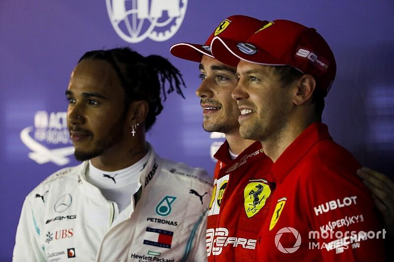 """Hamilton: """"No sé de dónde ha sacado Ferrari su ritmo"""""""