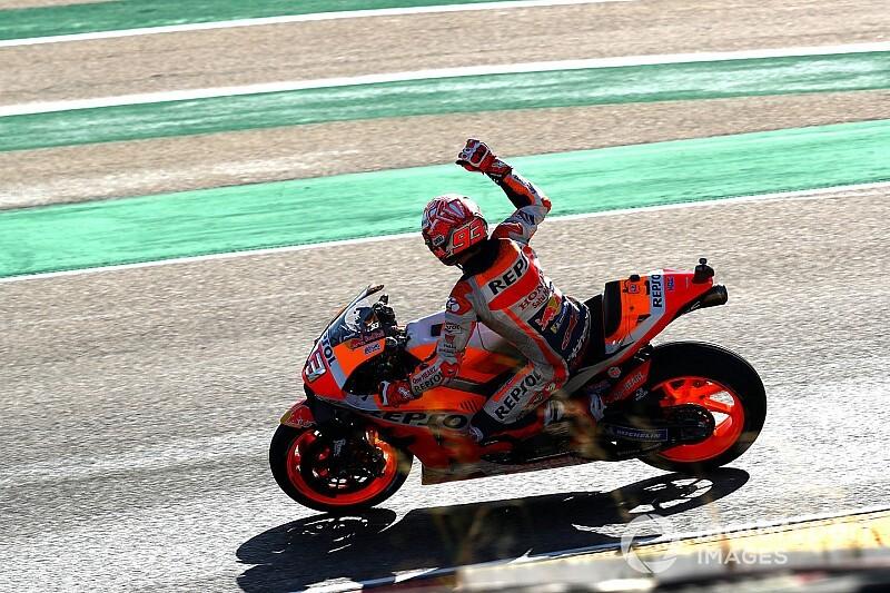 Márquez, a punto de título: clasificaciones completas de MotoGP tras Aragón