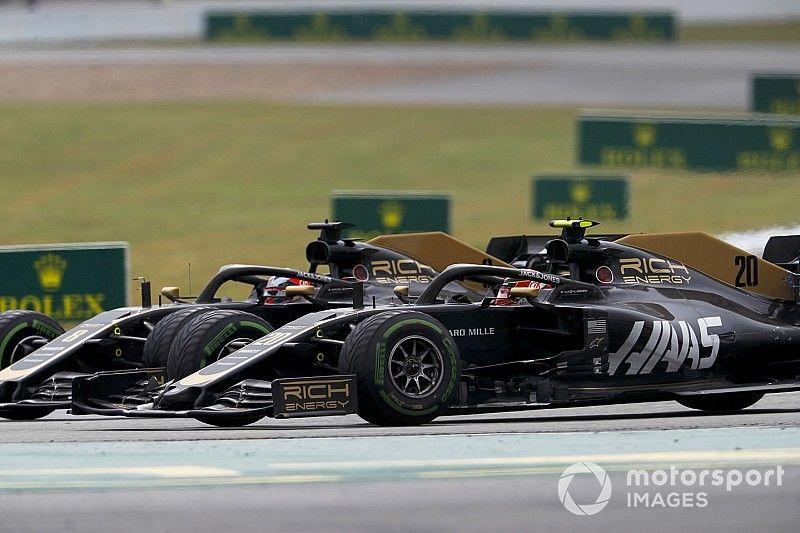Magnussen detona Grosjean após mais uma batida na Alemanha