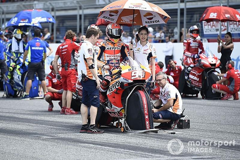 Гран При Японии MotoGP: стартовая решетка в картинках