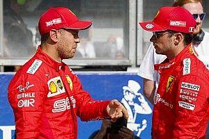 Пилоты Ferrari пообещали слушаться команду. Феттель слегка покаялся