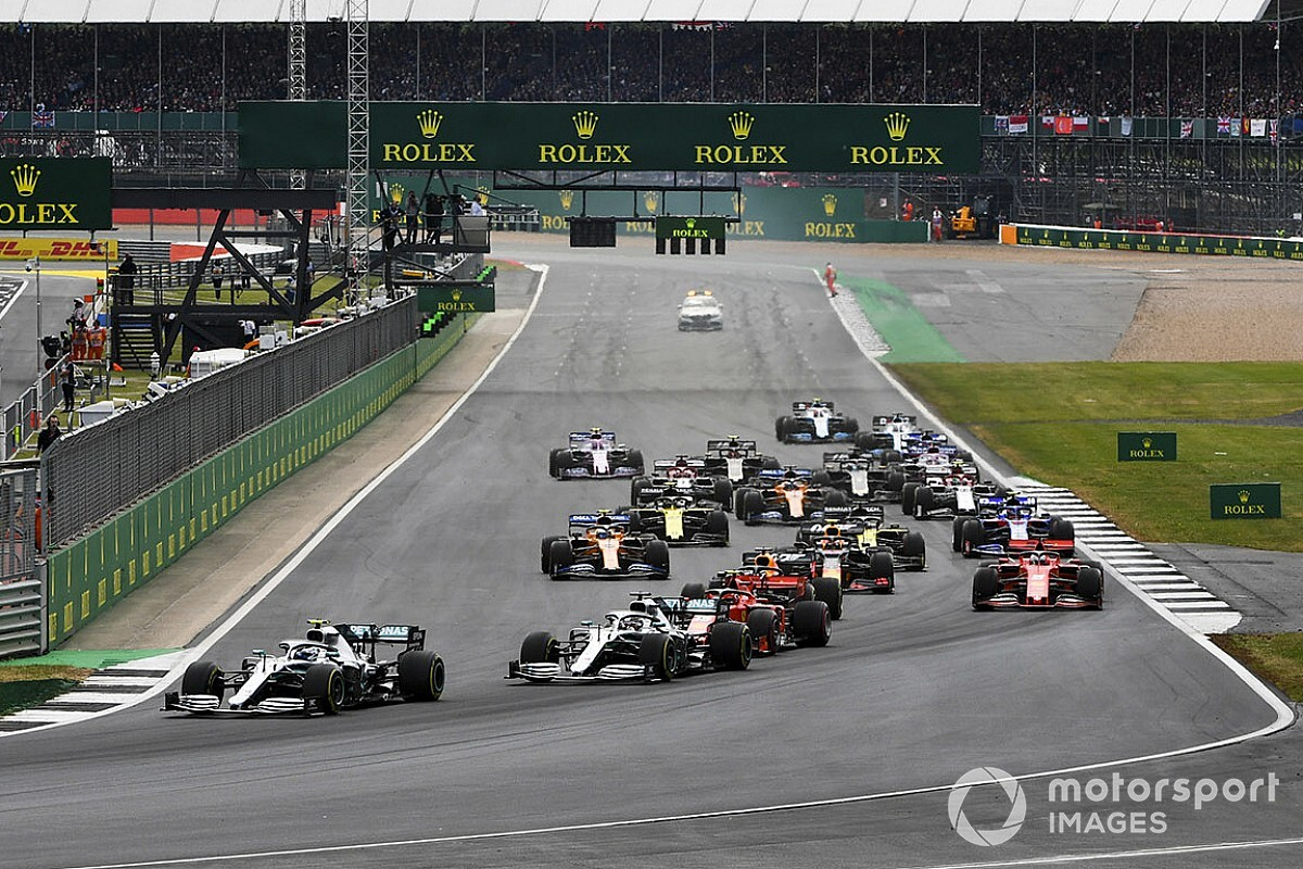 Veja como foi o GP da Grã-Bretanha pela linha do tempo do Motorsport.com