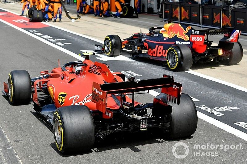 """Leclerc says he raced Verstappen """"harder than normal"""""""