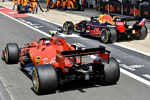 "Leclerc says he raced Verstappen ""harder than normal"""