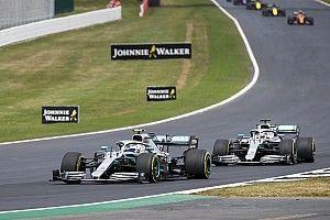 Mercedes avait laissé la liberté stratégique à Hamilton et Bottas