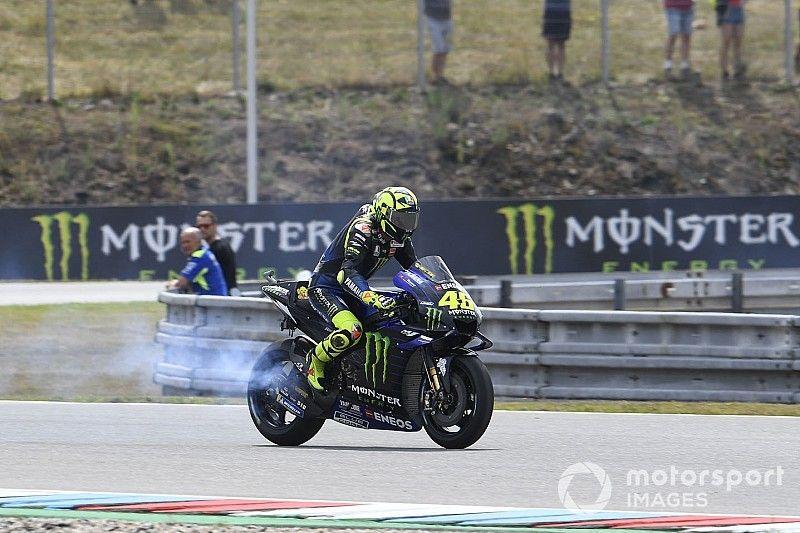 Rossi dice que los baches de Brno están desde 1996