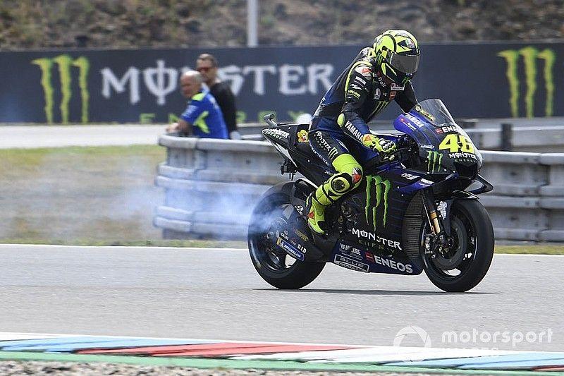 """""""Habe mich vergewissert"""": Rossi erklärt Fahrweise mit defektem Motor"""