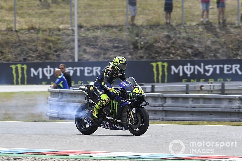 """Rossi: """"Los baches de Brno están en el mismo sitio desde 1996"""""""
