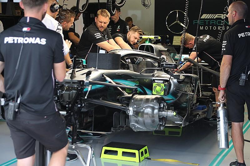 Моторы Mercedes в Бельгии заменят на новые