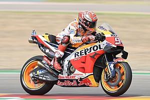 Aragon MotoGP: Marquez beats Quartararo to pole