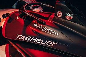 Porsche показала болид Формулы Е в новой расцветке