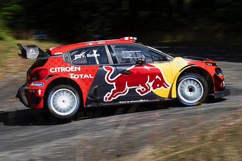 Esperando su renovación, Bottas prueba el Citroën WRC