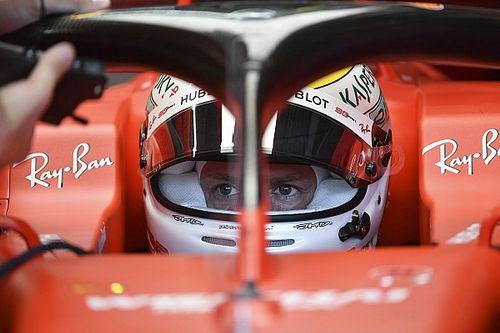 """Vettel: """"La Ferrari di Silverstone qui va molto bene"""""""
