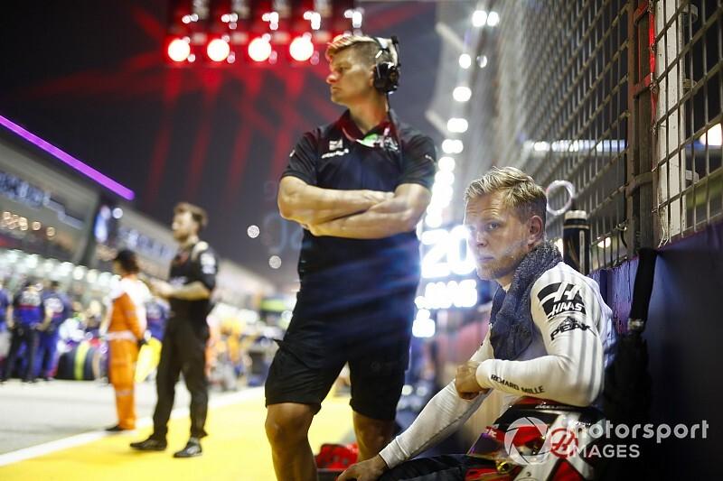 Una traicionera bolsa de sándwich arruinó la carrera de Magnussen