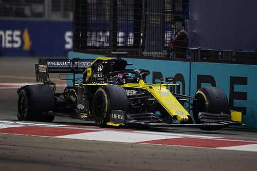 "Singapore GP result ""damage limitation"" for Renault"