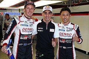 Nakajima y Hartley, en la pole en Fuji