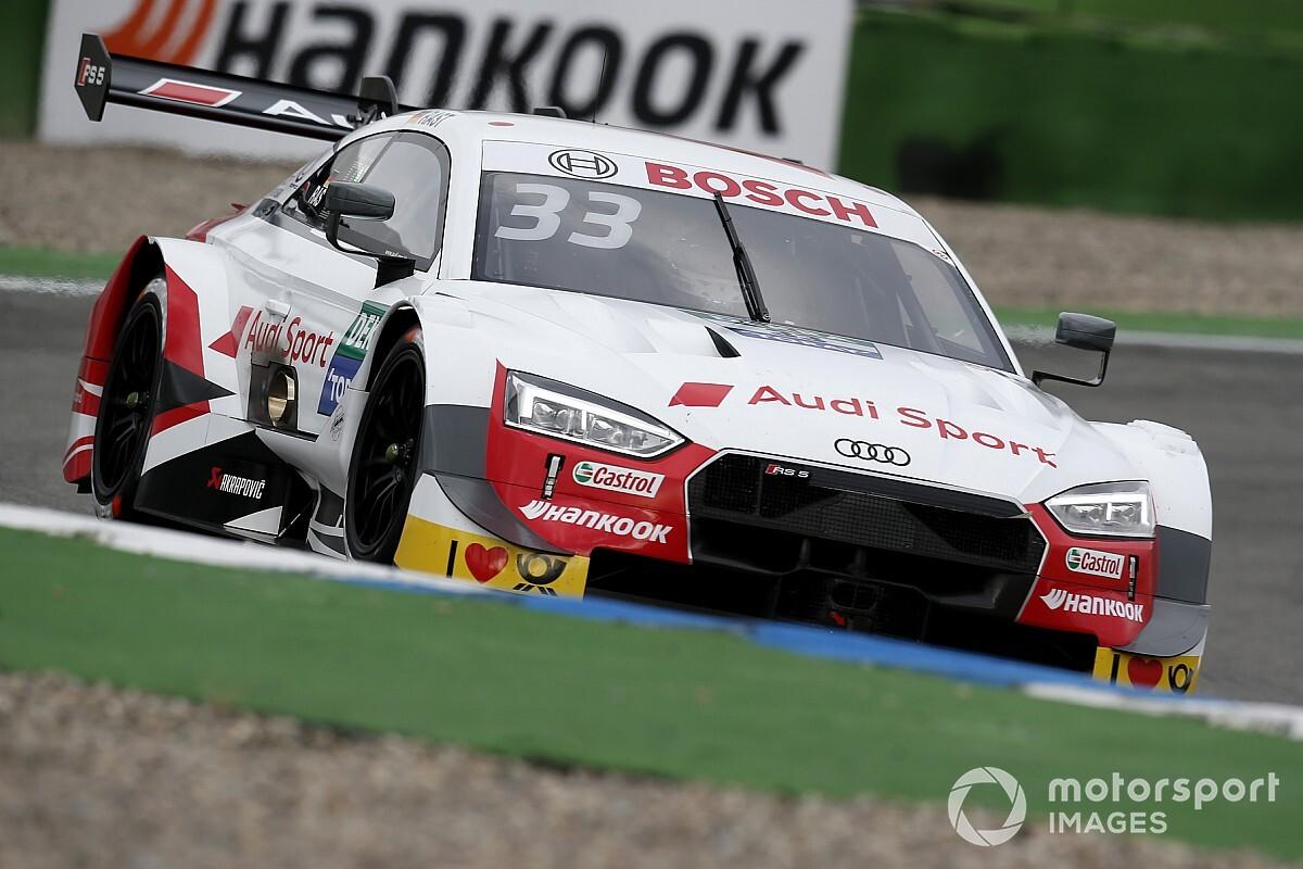 DTM Hockenheim: Pole Rast'ın, Button altıncı oldu