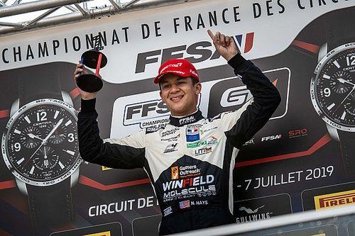Une victoire et trois podiums en F4 pour Winfield à Lédenon