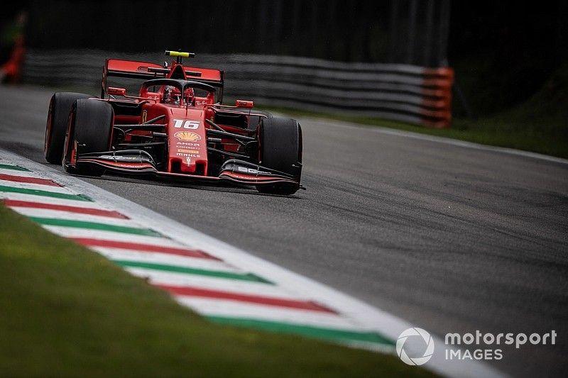 F1イタリア予選速報:ルクレールが2連続ポール! レッドブルのアルボンは8番手