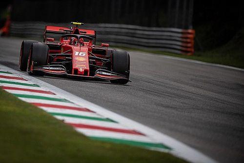 Leclerc vê bagunça por vácuo no final de classificação e consegue pole em Monza