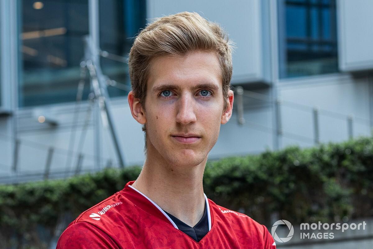 """Hivatalos: Bereznay Dániel a Sauber Esports versenyzője marad: """"Már tudom, ki lesz a csapattársam..."""""""