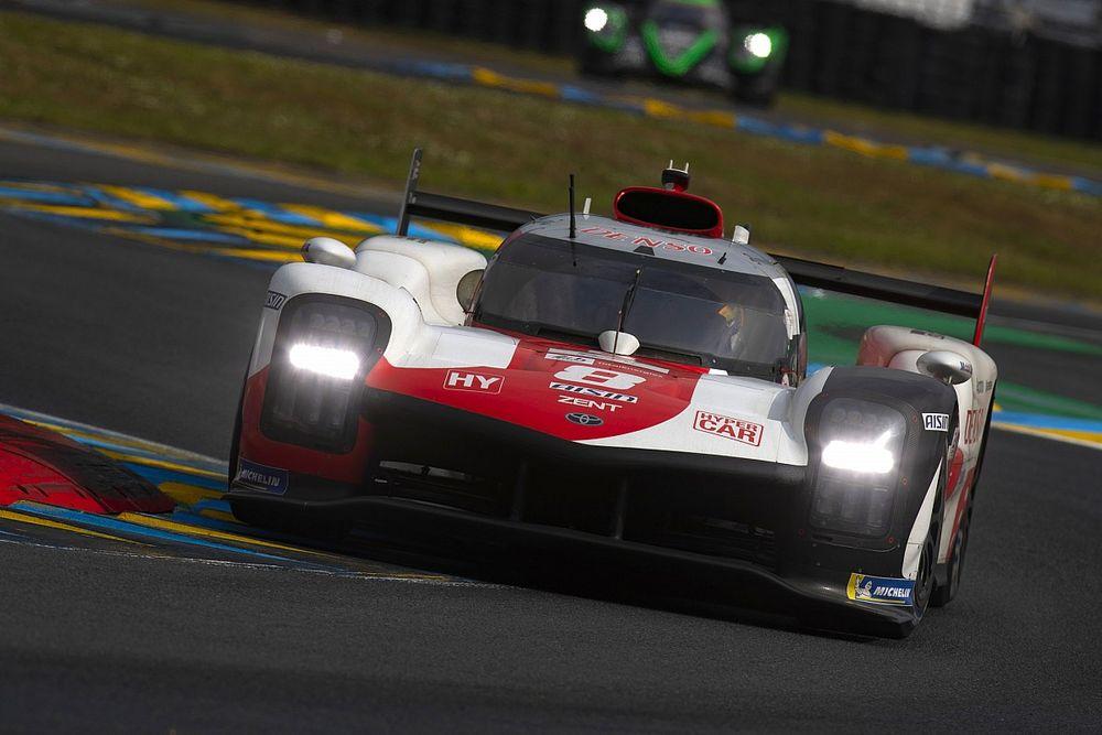 La mala suerte afectó al Toyota #8 en Le Mans 2021