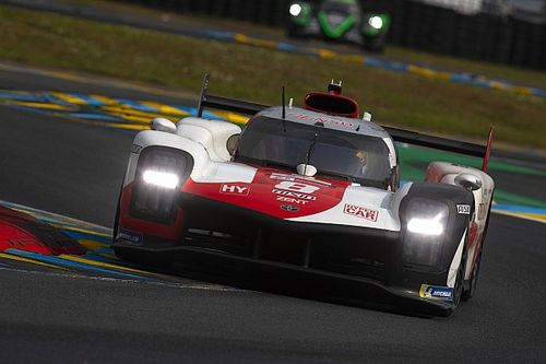 """Buemi: #8 Toyota was """"quite lucky"""" in Le Mans 24h start clash"""