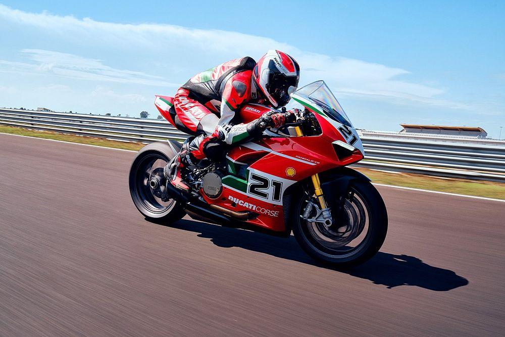 Panigale V2 Bayliss, Penghargaan Ducati untuk Sang Legenda
