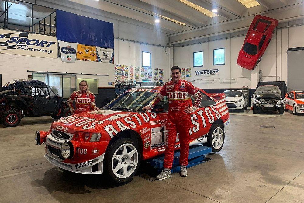 Breen w Escorcie WRC