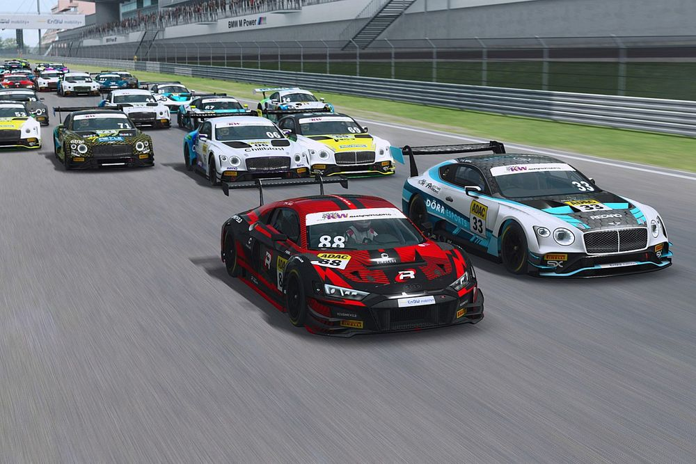 Siggy wins Nurburgring ADAC GT Masters Esports feature race