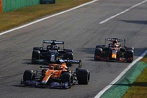 """イタリアGP2位のノリス、僚友リカルドへの""""アタック控え""""にフェルスタッペン&ハミルトン事故の影響"""