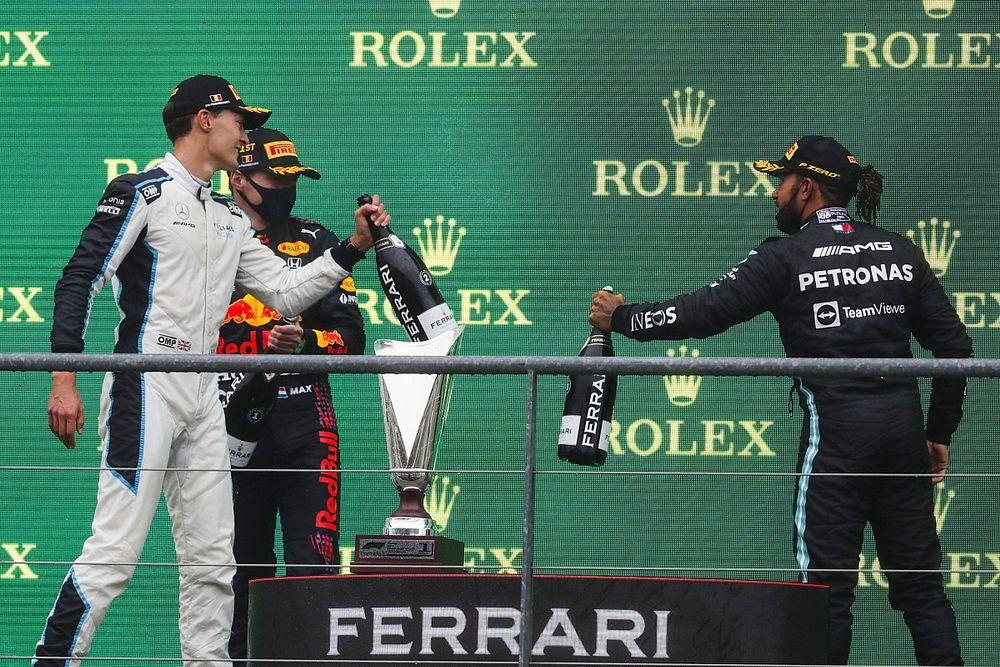 F1: Hamilton projeta relação com Russell na Mercedes caso britânico assine para 2022