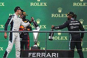 Hamilton: No me preocupa el ambiente interno si llega Russell