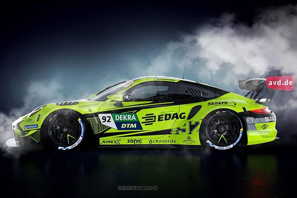 Zevende fabrikant in DTM: Porsche debuteert op de Nürburgring