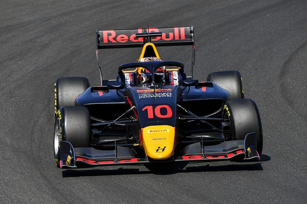 Zandvoort F3: Crawford tops twice-red-flagged practice