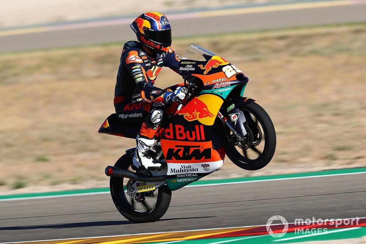 Teruel Moto3: Pole pozisyonunun sahibi Fernandez, Deniz 18.